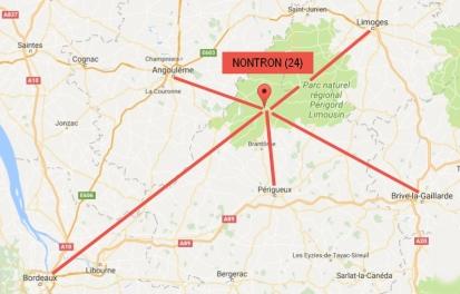 Nontron plan