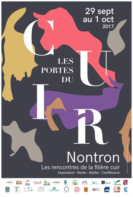 Affiche Les Portes du Cuir 2017 - 60x80